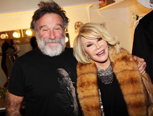 First Robin Williams and now Joan Rivers .. The World just got a little less funnier my friends.  #Heartbroken .. http://t.co/uLPBvX9fvW