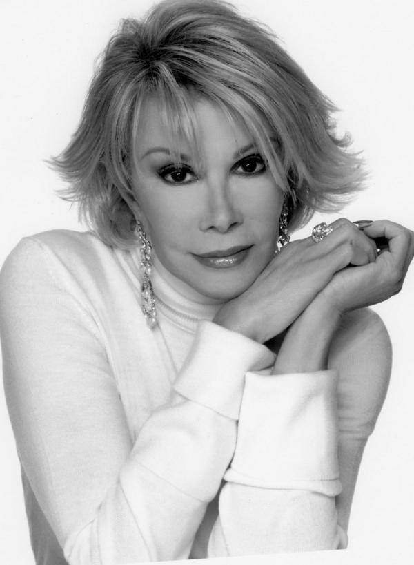RIP Joan Rivers. Thank you for making us laugh and helping us style a little better. http://t.co/NdbhL4dXq8