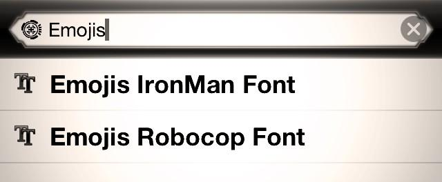 Jato Bz On Twitter If You Didnt Know Already Robocop Emoji Font Is Live In Cydia Http T Co Jsfiht39a6