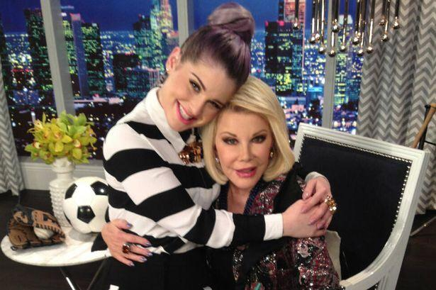 I love you with all my  heart @Joan_Rivers my life will never be the same with out you!  https://t.co/0kn2FFZDF9