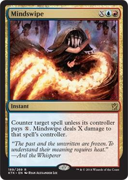 #MTGKTK PREVIEW! A counterspell that's right up my alley. I often won't even care if I counter a spell or not. WHAM! http://t.co/LdaBruCzZj