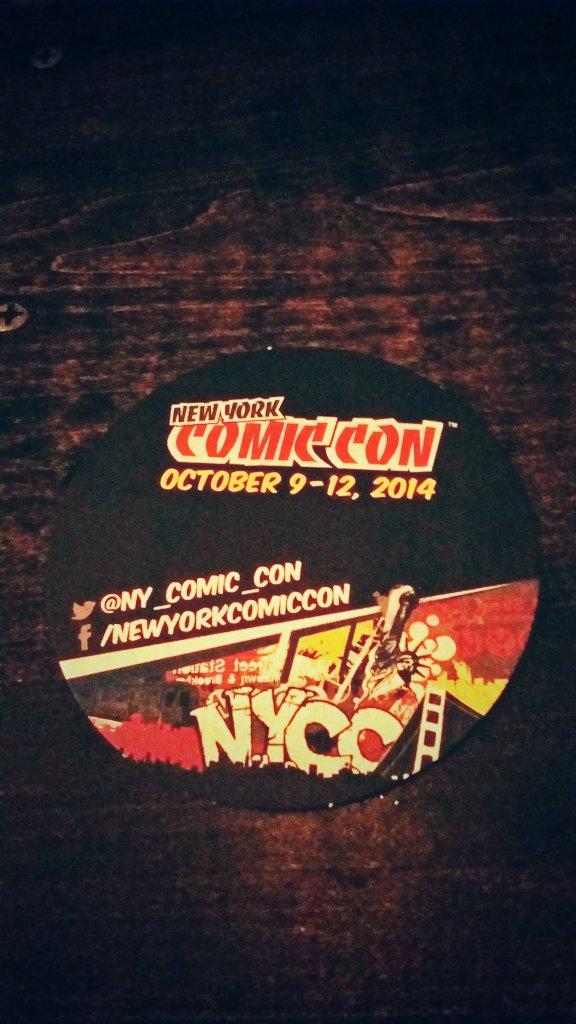 Oh check out the new coasters @waystationbk ! @NY_Comic_Con #NYCC http://t.co/kemIHybqrg