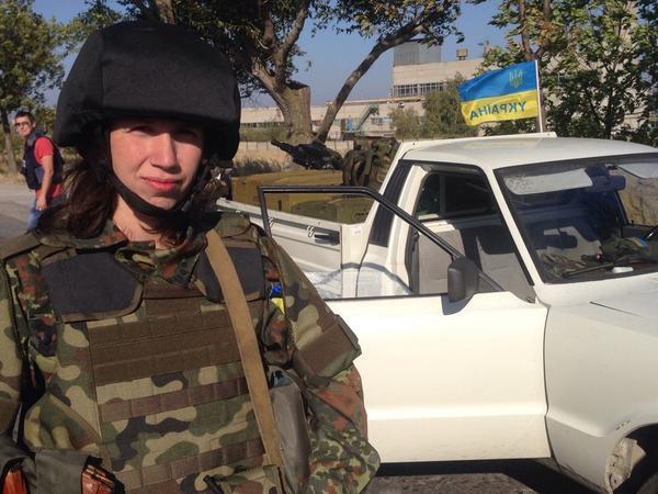 Татьяна Черновол записалась в карательный батальон «Азов»