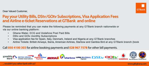 GTBank (Ghana) Ltd  on Twitter: