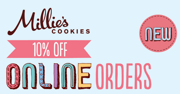Millie S Cookies On Twitter Get 10 Off Your Next Order Online Voucher Code Available From Http T Co Ye8cp5inox Oxzckpgbpj