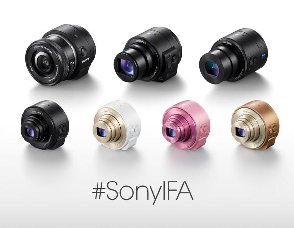Meet the new editions to the QX family - the QX1 and QX30 #SonyIFA #IFA2014 http://t.co/hnSz2AWqQM