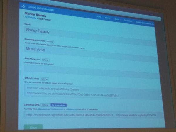 Doesn't look too different from @wordliftit vocabulary management interface / data curation at BBC #semantics2014 http://t.co/FV0BmVi5eY
