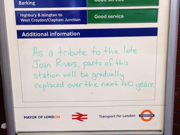 "Spotted by commuter @byronhamburgers this morning: ""Well played, Transport for London"" http://t.co/Yd0RL8IgXf"
