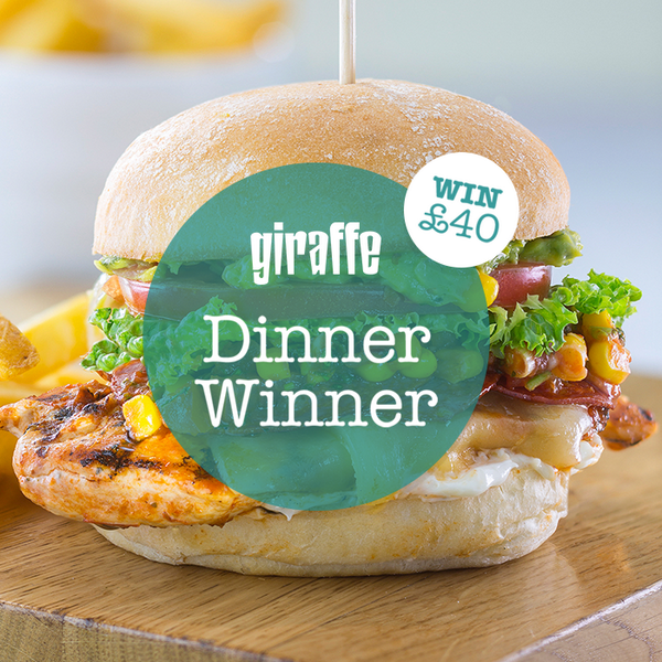 Time to give away £40 of vouchers to use at giraffe! Just RT & Follow to enter #DinnerWinner! Comp closes @ 5pm! http://t.co/CPIWjdqVQ9