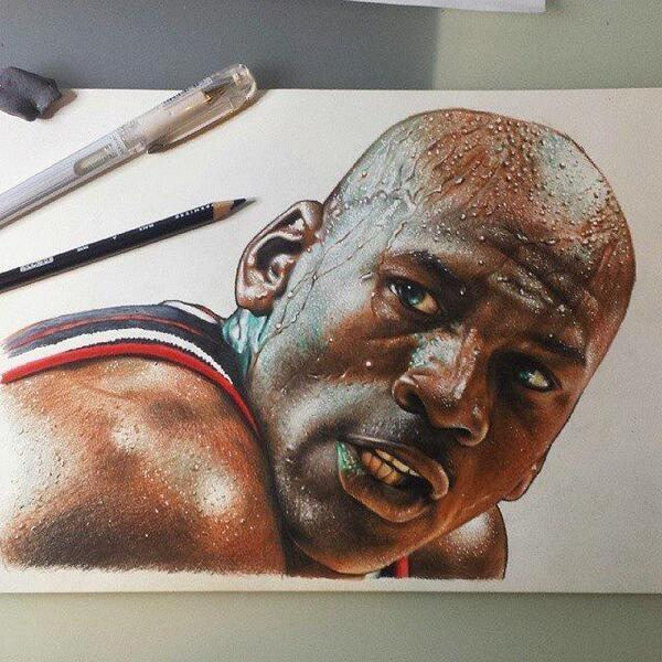 Artistic Ideas On Twitter Sick Michael Jordan Drawing Tco X1ysXLZN28