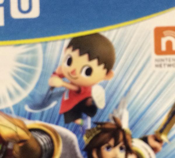WiiU版パッケージのむらびとがヤバいwwww http://t.co/bSNjYjOxEt
