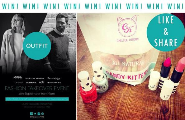 #GIVEAWAY RT & Follow myself & @OutfitFashionUK to win TOPSHOP makeup & Candy Kittens goodies! Closes 10pm http://t.co/xcgaNCR4Wz