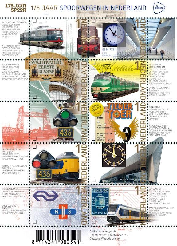 '@erikdezwart RT @PostNL: We vieren #175jaarspoor in Nederland met unieke #postzegels http://t.co/dbUkgreBVh http://t.co/4lKEy8DpRM
