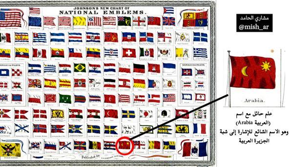 مشاري حامد الخليل A Twitter نشرة في أعلام دول العالم عام 1868م نشرة أمريكية حائل شمر Http T Co A8qjo5epoz