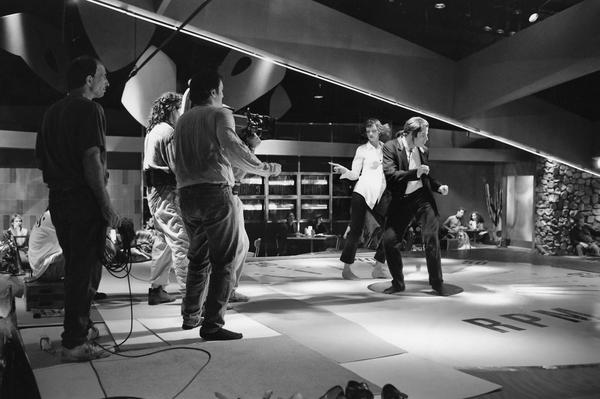 T I N P On Twitter Quentin Tarantino Filming The Dance Scene With
