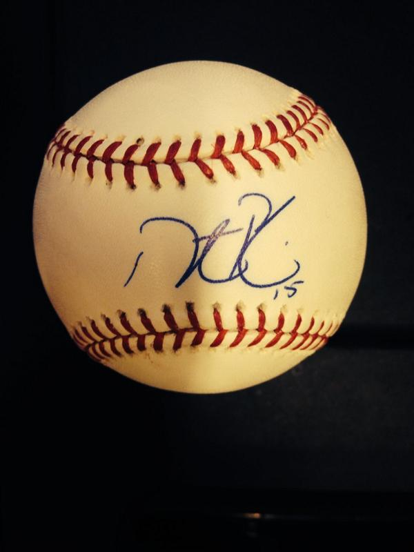 Here we go! RT for a chance to win this @15Lasershow autographed baseball!  #FanAppreciation http://t.co/wkddHf7a7v