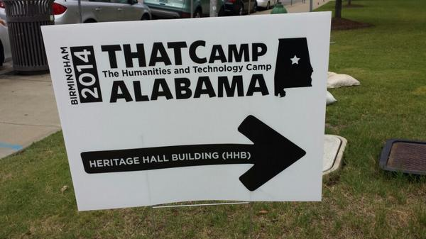 It's #THATCampAL time! (@ UAB Heritage Hall Building - @uab_cas in Birmingham, AL) https://t.co/E3a4YQsTMw http://t.co/Cv05zqjnex