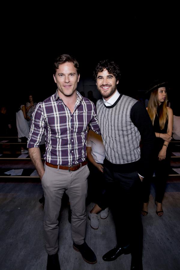 So great catching up with you @DarrenCriss at the @ToddSnyderNY #MBFW show. I've bought everything from last night http://t.co/iQXa5Uf6Eq