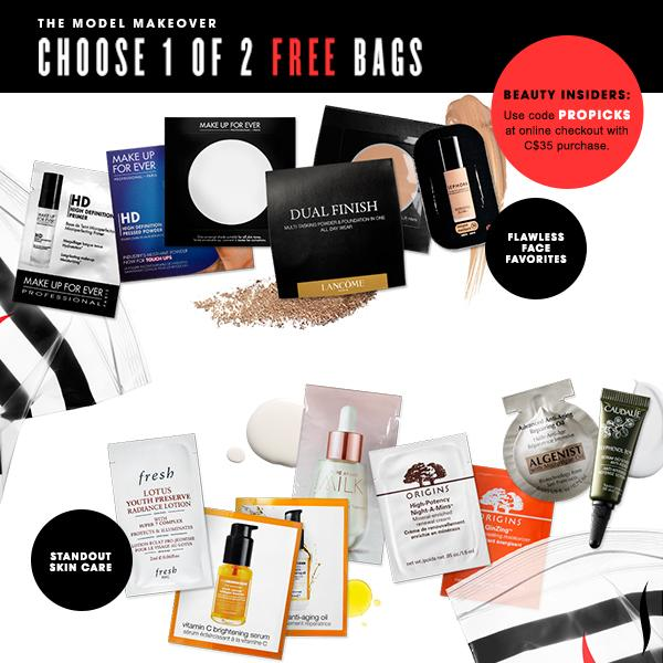 Sephora On Twitter Beautyinsiders Choose 1 Of 2 Makeover Sample Bags Free With Code Propicks Http T Co Hjnrbxlkaa Zbyyu2ilhf
