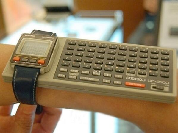 """""""@conradhackett: The iWatch of 1984 http://t.co/OsiyUhMiQN"""""""