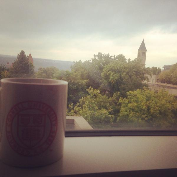 Gorgeous morning at #cornell excited for the #dysonWIL conference today! http://t.co/FPnmF0f5hv