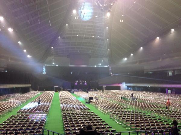 無事!初音ミク マジカルミライ2014終了しましたー!! http://t.co/x9pfk6yD0R
