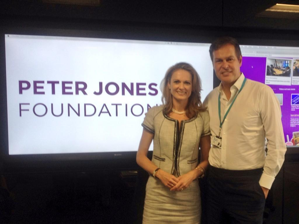 Great day! RT @DaleJMurray: I've joined the board of @PJFoundation Here with @dragonjones at my 1st meeting. http://t.co/XUqyWzNbT5