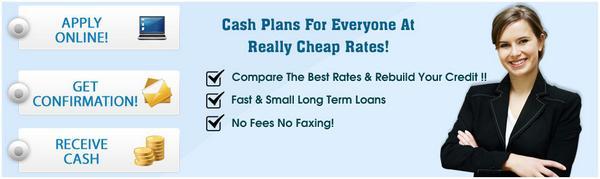 same day loans no fees bad credit