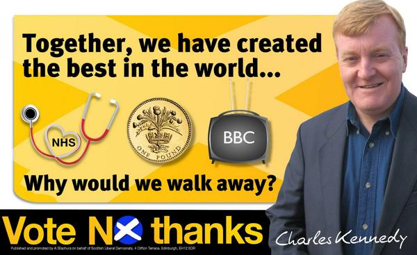 Together we have created the best in the world...why walk away? #LibDemNO http://t.co/j9CIu7tBLO