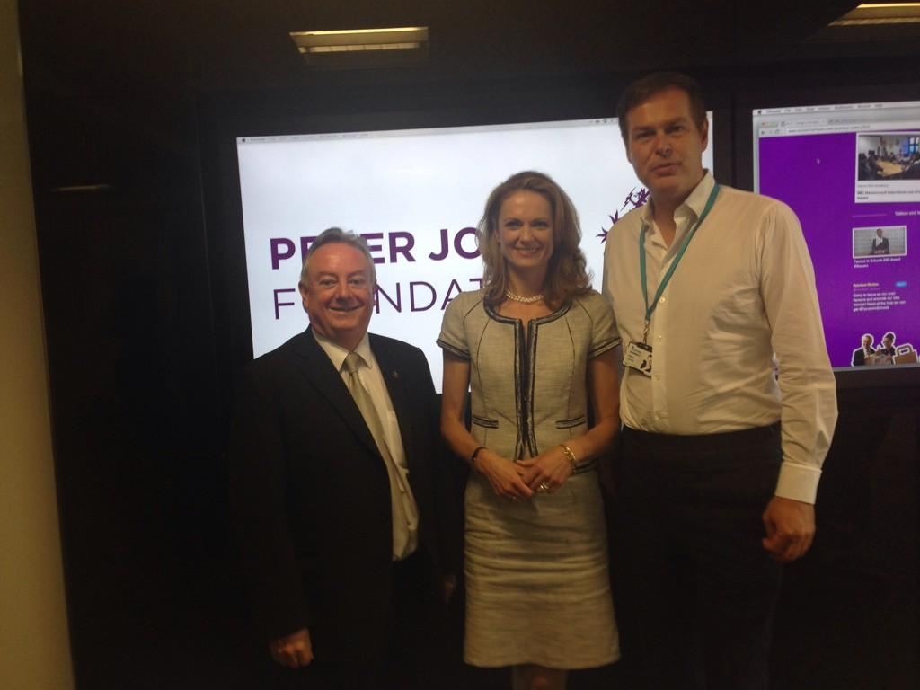 RT @HUDVC: @dragonjones thank you for inviting me and @DaleJMurray to join the Board of @PJFoundation. A truly inspiring meeting http://t.c…