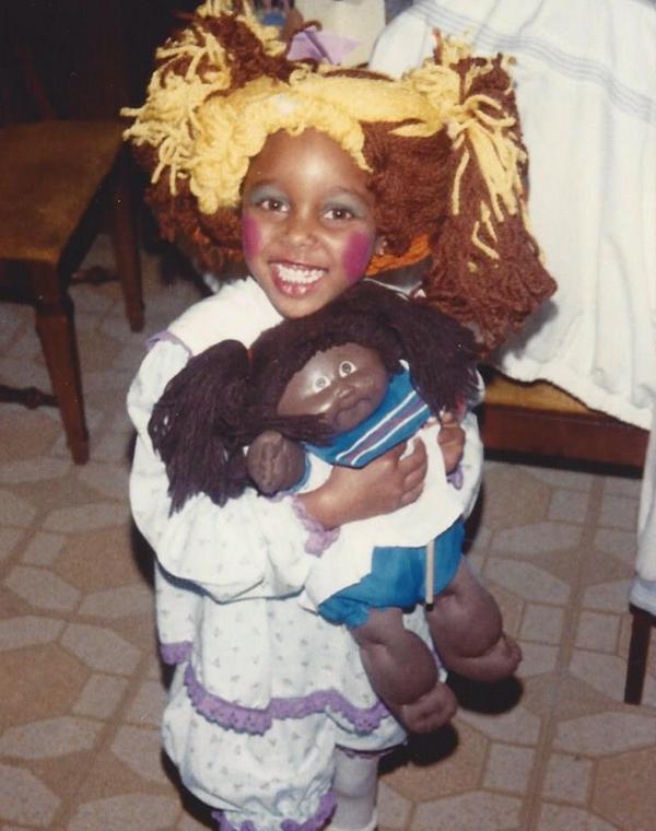 adorable picture wwe diva eden brandi reedrunnels as a child dressed as a cabbage patch kid for halloween old wwf u0026 new wwe pinterest adorable