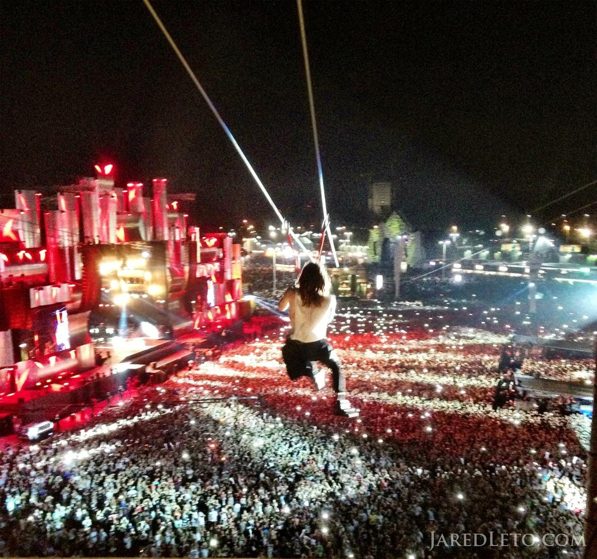 NOTES FROM THE OUTERNET Photo Flashback: Me ziplining at ROCK IN RIO - http://t.co/XwmPbf7yIF http://t.co/KwQ8Bbxy5O