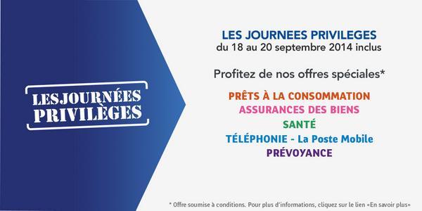 La Banque Postale On Twitter Ne Manquez Pas Nos Journees
