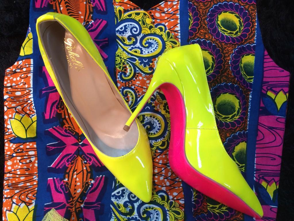 Pink Bottom High Heels