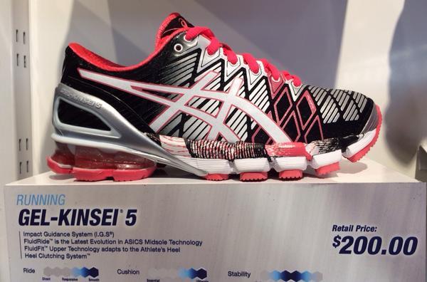 "b7c7c56ae435 "" darrenrovell  Asics most expensive shoe pic.twitter.com wKFJvLFFDj"" lol"