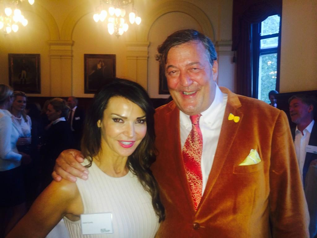Wonderful time with @stephenfry for the amazing @macmillancancer http://t.co/DreBge8Ozm