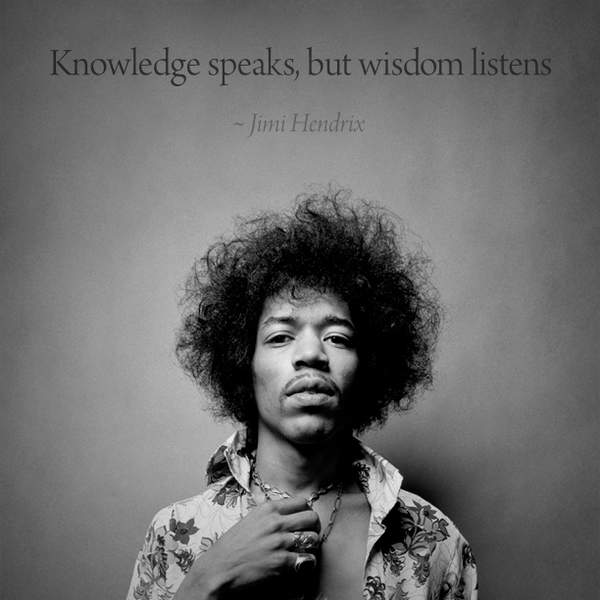 knowledge speaks but - photo #23