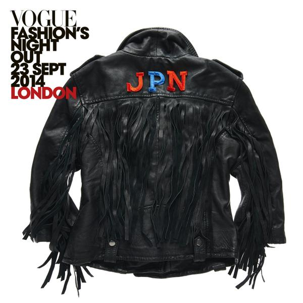 Cant make it to #FNO? RT to #win this personalised #leather jacket. Comp ends 30/9/14. T&C >> http://t.co/KdscSTBEDR http://t.co/kI53rMrS5z