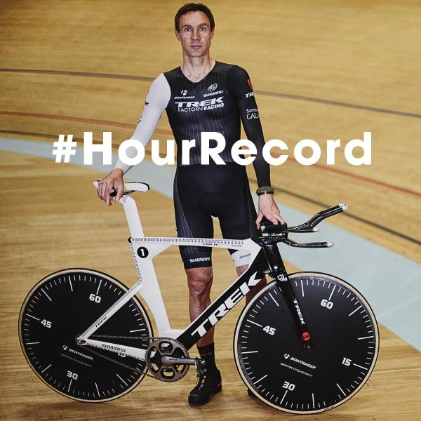 The World #HourRecord is 51.115km, held by @thejensie http://t.co/xVCKFd2bFH