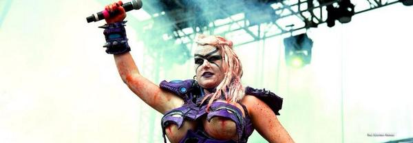 GWAR's new frontman is a woman. And her name is Vulvatron. http://t.co/Uxhi45KgoT ht @kenlowery http://t.co/BiPA1hdBSB