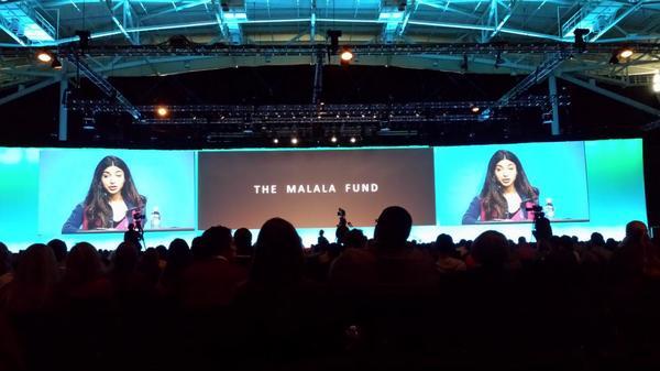 La última conferencia de #INBOUND14: Shizah Sahid de Malala Fund de educación para mujeres. http://t.co/6RaI2jt2qO