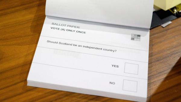 The brilliant simplicity of Scotland's secession ballot: http://t.co/YHAT2UfTKE http://t.co/6GLrtkVcVN