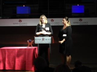 RT @AboutSepsis: @everymomcounts a non-profit dedicated to making pregnancy & childbirth safe accepts a #SepsisHeroes award #sepsis http://…