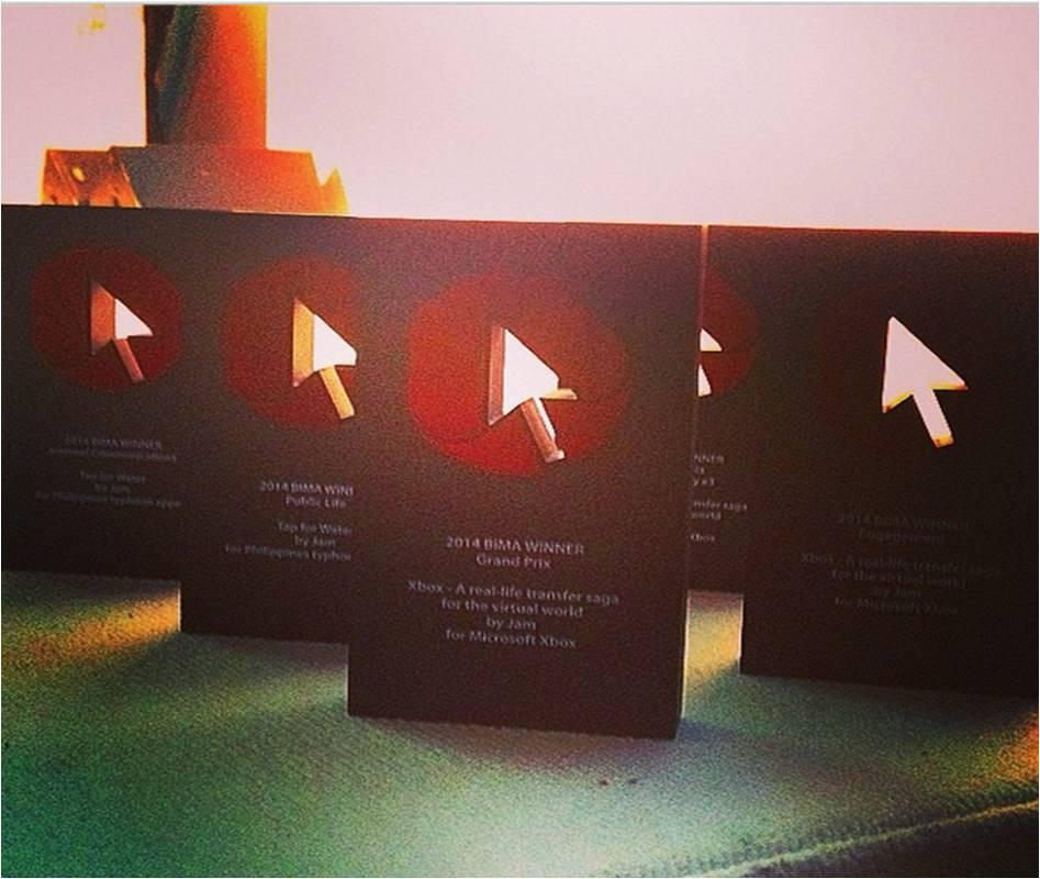 The odds of these 5 making it back to the office are not good. #BIMAAwards http://t.co/zPYjr0VQyX