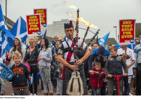 From Twitter, Wall Street Journal's account:  Photos: Scotland votes in independence referendum | http://on.wsj.com/1ubZMTH