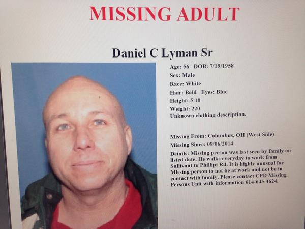 This Cbus grandfather hasn't missed a day of work in 21 years. He's now been missing nearly 2 weeks.  More at 6. http://t.co/6a75c5XHL6