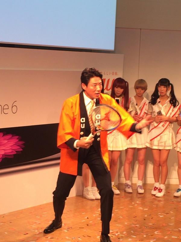 回線の速さをアピールするはずが、錦織選手のフォームの解説を始める松岡修造さん。 pic.twitter.com/G5vz1Eirwm