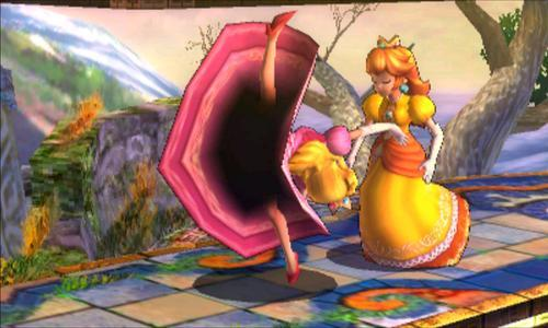 Princess peach upskirt