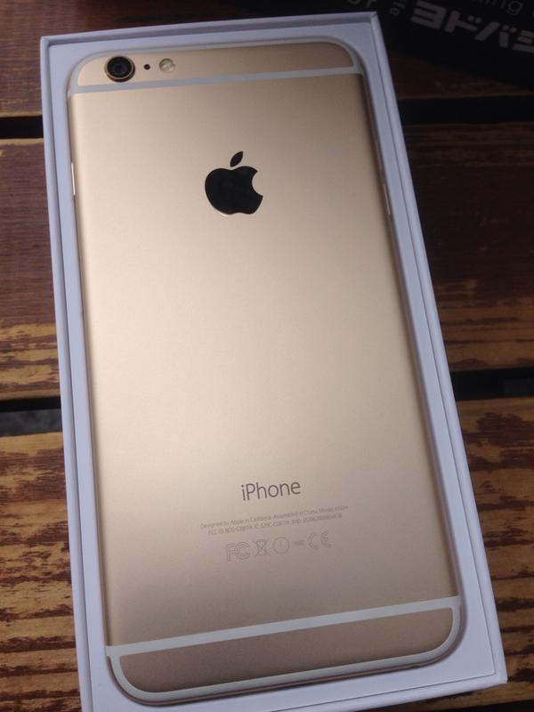 iPhone6! pic.twitter.com/Mn5FB7fiBH