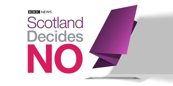 Scotland votes no on independence - BBC calls it